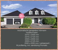 Automatische garagedeuren aanbieding zie de foto vanaf 899 euro