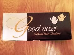 Vintage chocolate box: Good News by Rowntree Mackintosh 1/2lb