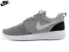 newest 90511 4547c 2014 Mens Nike Roshe One Hyperfuse Mesh And Suede Uppers 3M Reflective Shoes  Gray Silver,