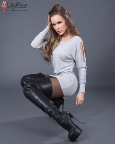 Like: sexy-thigh-high-boots March 20 2017 at Thigh High Boots, High Heel Boots, Over The Knee Boots, Heeled Boots, Stiletto Boots, Botas Sexy, Mode Rock, Hot High Heels, Sexy Boots