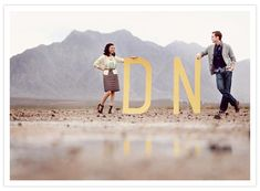 This might be the most fantastic desert engagement shoot I have seen.