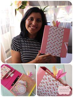 DIY - Como fazer um Planner / Dossier de Organização ~ Sanna Handmade