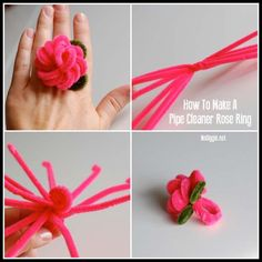 Pipe cleaner crafts including pipe cleaners art, animals and flowers. We have the best list of easy homemade crafts and DIY project ideas for kids! Pipe Cleaner Flowers, Pipe Cleaner Art, Pipe Cleaner Animals, Pipe Cleaners, Diy Projects For Kids, Diy For Kids, Craft Projects, Easter Crafts, Fun Crafts