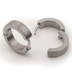 0510-01 Boccia Titanium Earrings