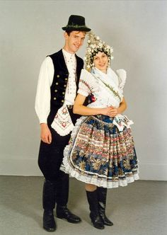 Hronské Kľačany village, Tekov region, Western Slovakia. Folk Costume, Costumes, Folk Clothing, Traditional Outfits, Hipster, Popular, Clothes, Women, Fashion