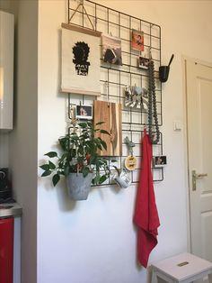 Barsö hack Ikea kitchen wal deco Ikea Makeover, Ikea Kitchen, My Dream Home, Ladder Decor, Boho, Home Goods, Shelves, Interior, Wall