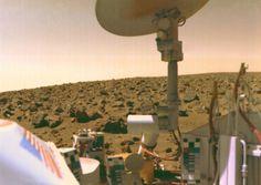 Image from Mars taken by the Viking 2 lander. Credit: NASA