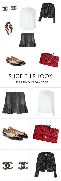 """""""Untitled #21"""" by molisegunbak ❤ liked on Polyvore featuring Dsquared2, Chloé, Valentino, Chanel and Gucci"""