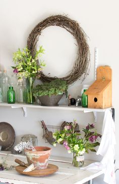 Creating a Garden Work Space - Homeology Modern Vintage