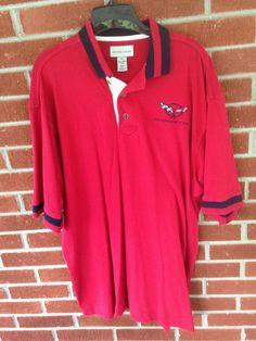 Cutter and Buck Corvette  shirt size L/G 100% cotton' #CutterandBuck #PoloRugby