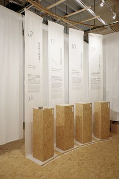 米展 - Exhibition on Behance Exhibition Stand Design, Exhibition Space, Exhibition Display Stands, Display Design, Store Design, Wall Design, Design Design, Graphic Design, Web Banner Design