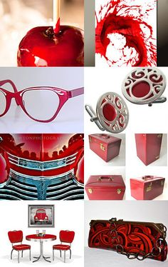 Candy Apple Red! Treasury By Photographs are Art.