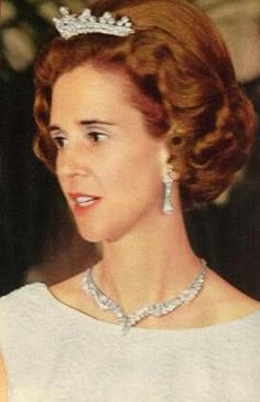 Queen Fabiola of the Belgians, c. 1960's.