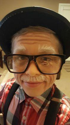 e7ebfd5b0715 Old Man Makeup Kids Old Man Costume