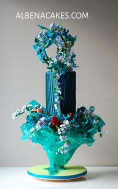 Avant Garde Cake by Sweet Temptations-Custom Cakes by Albena www.albenacakes.com www.facebook.com/albena.cakes