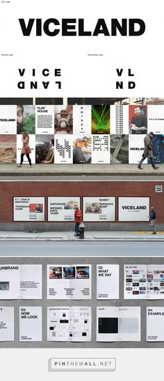 Gretel's 'unbranded' branding for Vice TV channel, Viceland – Creative Review - created via https://pinthemall.net