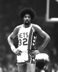 Dr. J - great athlete, great 'fro!