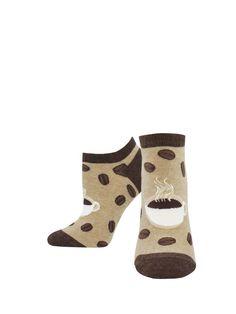 Grey Good Luck Sock Mens Smores Socks Adult Shoe Size 7-12