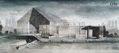 The Art of Rendering: Create a Stunning Watercolor Visual Using SketchUp, AutoCAD and Photoshop - Architizer