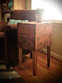 mesa con cajón