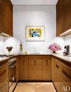 Steven Harris and Lucien Rees Roberts's Petite Tribeca Kitchen
