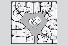 Owen Nichols  Plan of hotel room cluster