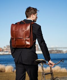 Shop the Lotuff Leather Handmade Men's Leather Bag collection. Exquisite leather briefcases, leather duffle bags, and leather wallets. Fashion Bags, Fashion Accessories, Mens Fashion, Mochila Formal, Leather Briefcase, Leather Backpack, Men's Backpack, Leather Bags Handmade, Designer Backpacks