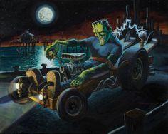 Frankenstein hot rod