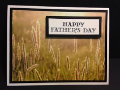 Guy Greetings, Serene Scenery, Father's Day Card, Masculine Card, Stampin' Up!, Rubber Stamping, Handmade Cards