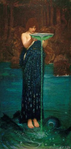 John William Waterhouse - Circe Invidiosa