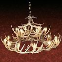 Cabela's 30-Antler Reproduction Whitetail Chandelier at Cabela's