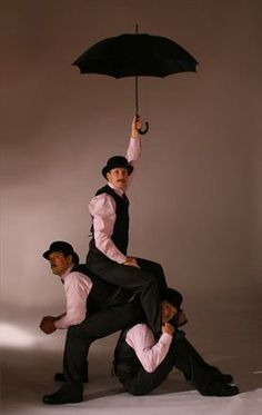 The Acro-Chaps provide brilliant entertainment in their typical British Gentlemen style!  http://bigfootevents.co.uk/entertainment/Themed-Events/Best-of-British-Theme.aspx
