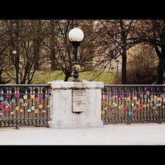 Flower bridge in Slupsk (PL) #crotchet #flowerbridge #urbanknitting