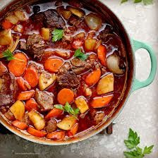 I would substitute sweet potatoes or yams for regular potatoes. Irish Beef Stew, just in time for St. Patrick's Day! // The Curvysta Haven