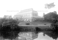 Southport, Churchtown Gardens, The Glasshouse from Francis Frith Southport, Glass House, Old Photos, Louvre, Gardens, Building, Travel, House Of Glass, Old Pictures