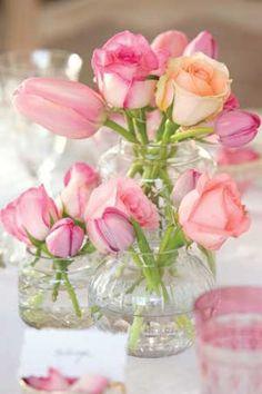 So many beautiful shades of pink!!