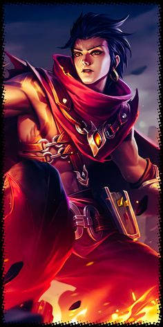 Son of Flames, Pale Flame, Shikigami Summoner, Dictator. Dont Touch My Phone Wallpapers, Android Mobile Games, Bang Bang, Mobile Legend Wallpaper, Mobile Legends, Anime Outfits, True Colors, Iphone Wallpaper, Images