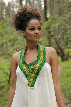 :::: PINTEREST.COM christiancross ::::Ethiopian Dress