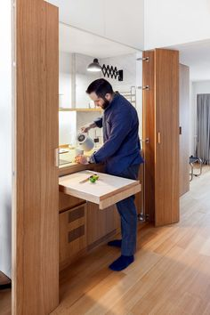 The designers from Studio Bazi apparently have a knack to create modern functional spaces from tiny apartments. We have introduced to you another project of Small Apartment Design, Small Apartment Decorating, Apartment Layout, Apartment Interior, Apartment Living, Apartment Ideas, Tiny Apartments, Tiny Spaces, Studio Apartments
