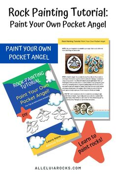 Join my email list and get instant access to a FREE 6-page rock painting tutorial, complete with instructions, photos, and Pro Tips! Paint your own pocket angel rock! CLICK to sign up! #DIYrockpainting #painterocksdiy #paintyourownrocks #paintedrocks #kindnessrocks #rockpainting Stone Painting, Rock Painting, Diy Painting, Hand Painted Rocks, Painted Stones, Free Rocks, Kindness Rocks, Instant Access, Email List