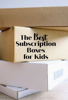 Looking for a gift that keeps on giving? Consider gifting subscription boxes for kids! Here's a list of some of the best subscription boxes for kids! Subscription Boxes For Kids, Subscription Gifts, Fun Arts And Crafts, Arts And Crafts Projects, Stem Projects For Kids, Kiwi Crate, Riding Lessons, Kids Learning Activities, Craft Box