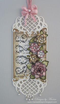 Designs by Marisa: Heartfelt Creations Wednesday - Love Tag