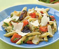 Herbed Penne with Grilled Veggies