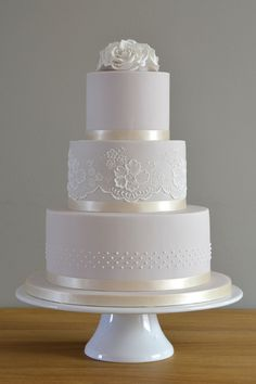 wedding cakes with bling lace and simplicity wedding cakes cakes elegant cakes rustic cakes simple wedding cakes cakes elegant cakes rustic cakes simple cakes unique cakes with flowers 3 Tier Wedding Cakes, Wedding Cake Rustic, Wedding Cakes With Cupcakes, White Wedding Cakes, Wedding Cakes With Flowers, Elegant Wedding Cakes, Elegant Cakes, Beautiful Wedding Cakes, Wedding Cake Designs