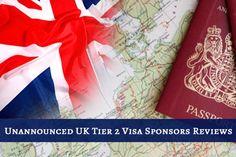 Unannounced UK Tier 2 Visa Sponsors Reviews