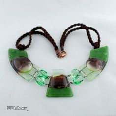 collares en vitrofusion - Buscar con Google Fused Glass Jewelry, Glass Art, Jewelry Making, Pendants, Drop Earrings, Resin, Tutorials, Deco, Google