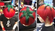 10 crazy hair tattoos if you're looking for a new look Bad Hair Day, Terrible Haircuts, Dyed Red Hair, Hair Tattoos, Different Hairstyles, Crazy Hair, Looks Cool, New Hair, Hair Inspiration