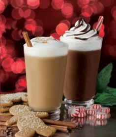Jack's Frost Mocha Recipe! Perfect recipe for  coffee shops. Find everything you need and more to create this sweet peppermint drink at coffeeshopdepot.com! #drinkrecipes #peppermintbark #coffeedrinks