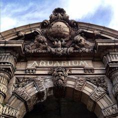 Belle Isle Aquarium. Detroit has such a fascinating history!