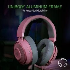 Razer Kraken Pro V2 Lightweight Aluminum Headband Retractable Mic In-Line R